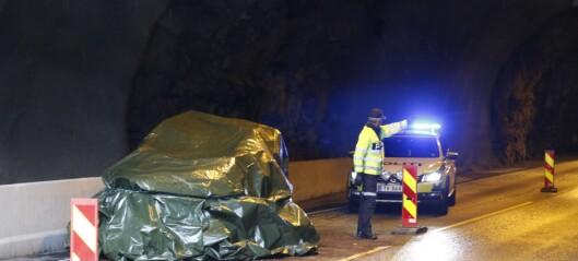 Mann stadfesta omkomen etter ulukke i Midnestunnelen