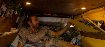 Vegard (26) vil vere så mobil som mogleg – flytta inn i sin eigen bil