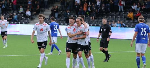 Sogndal dominerte mot KFUM - men to seine reduseringar sørgja for spaning på tampen av kampen