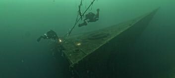 Frakteskipet vart senka av bombefly. No er det blitt ein skatt for dykkarentusiastar, og ei stoltheit for bygda