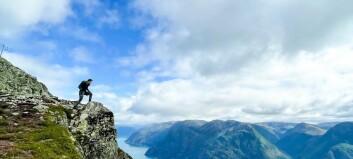 – Ingenting slår utsikta på toppen
