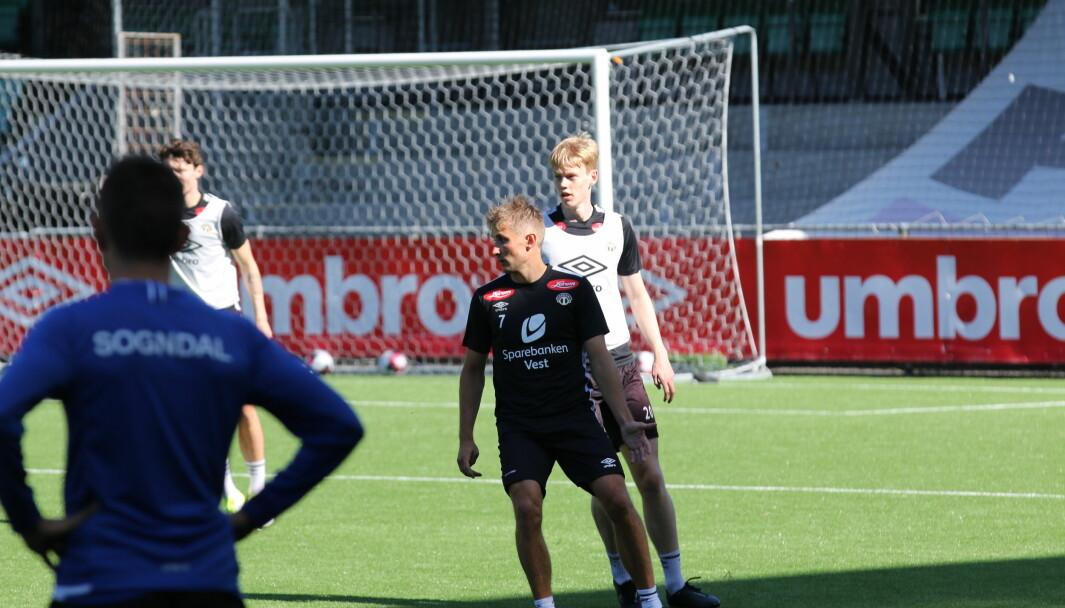 KLAR: Steffen Lie Skålevik er ein mann som truleg vil få mykje tillit av Bakke denne hausten, basert på trenaren sine eigne uttalelsar om spelaren.