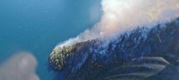 Brannen i Aurland: – Ikkje så mykje opne flammar lengre