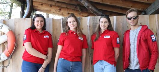 Fleire unge vil vera frivillige i Røde Kors: – Tinga me lærer gjev oss fordelar seinare i livet