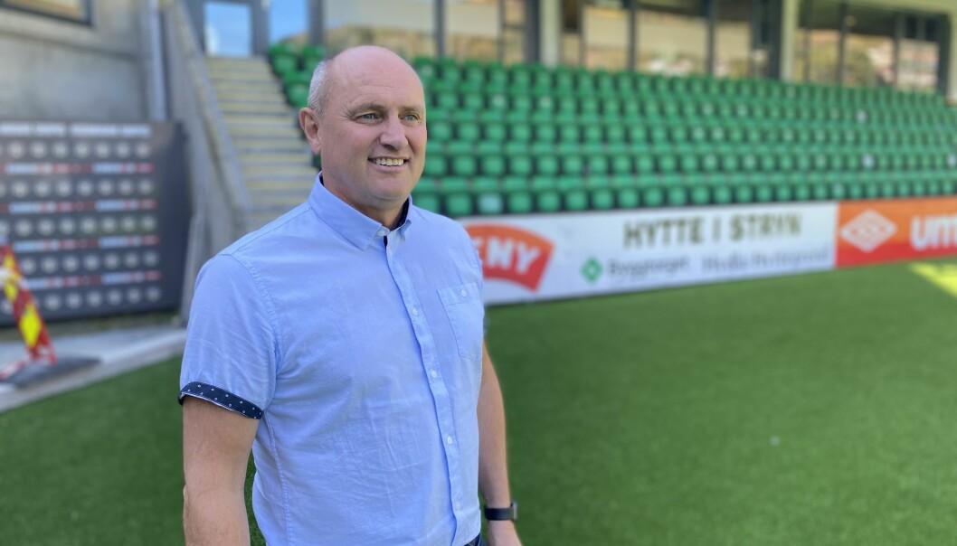 VEMODIG: Jan Rune Årøy seier han tykkjer det blir rart å ikkje forholde seg til kompis Eirik frå neste år. – Eg tykkjer me har fått til mykje bra, seier han.
