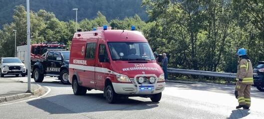 Aggressiv kvinne på Haukåsen, velta kajakk i Vik og trafikktrøbbel i Årdal