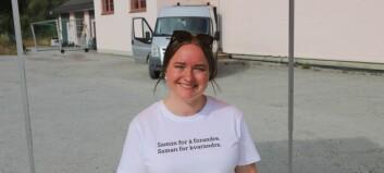 Marta kjempar i motbakke – denne veka var ho på heimebane i Balestrand