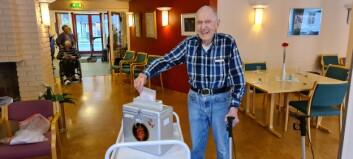 Leif (93): – Me må ha klimaet på dagsorden
