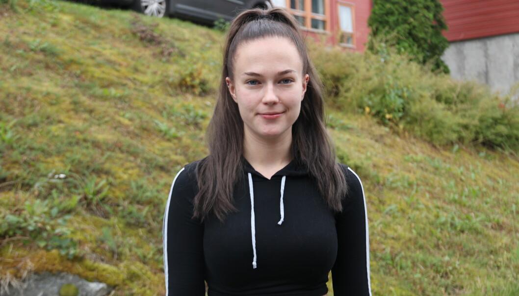 PRAKSIS: Tomine Bauge går eit studium som tilbyr praksisopphald i utlandet. Det blir det ikkje noko av til våren.