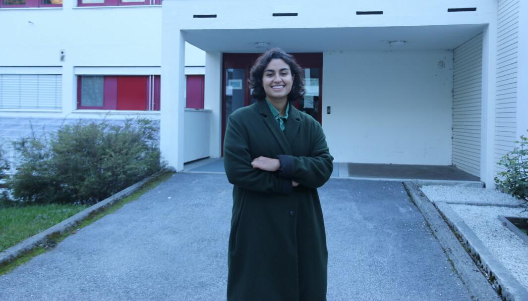 JOBB: Mina Bina frå Bergen er turnuslege i Årdal