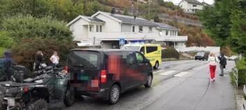 Trafikkulukke i Sogndal