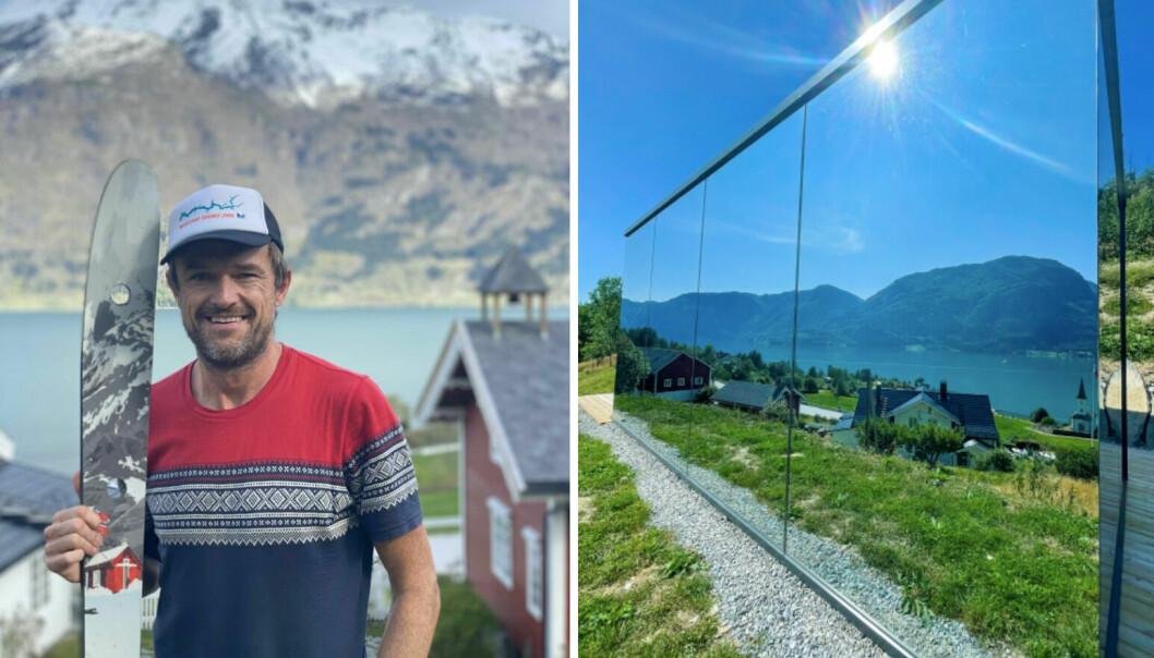NYE PROSJEKT: Eigar av Nes Gard, Anders Månum kan endeleg ta eit pust i pakken etter ein hektisk sommar. No er det søknadar for vidare prosjekt som står på agendaen.
