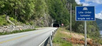 Europavegtunnelen blir stengd store delar av dagen