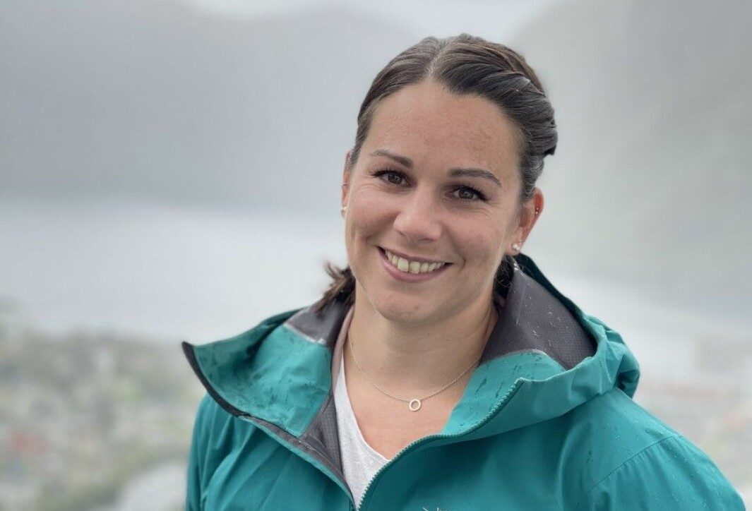 HÅPAR: Cahtrine Heggø håpar på å starte ein frisklivsentral i Høyanger. Om alt går etter planen kan ho starte allereie neste år.