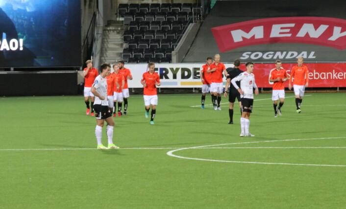Åsane vart for sterke - Sogndal ute av cupen