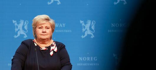 Det norske samfunnet blir gjenopna laurdag klokka 16