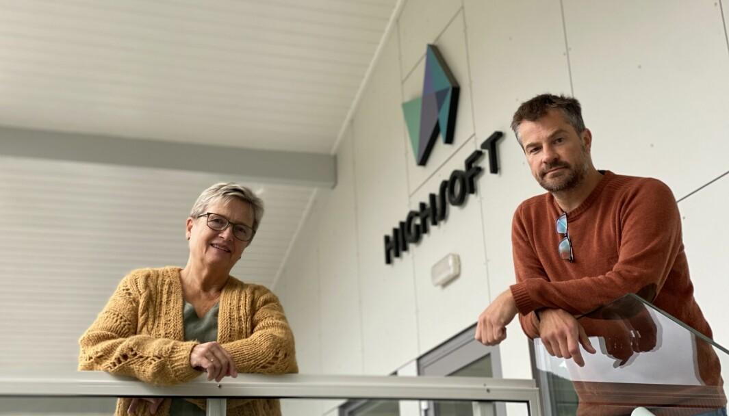 EVENTYR: Dagleg leiar Grethe Hjetland og grunder Torstein Hønsi har gjort stor suksess med selskapet Highsoft i Vik det siste tiåret. No draumar dei om å ta selskapet til nye høgder.