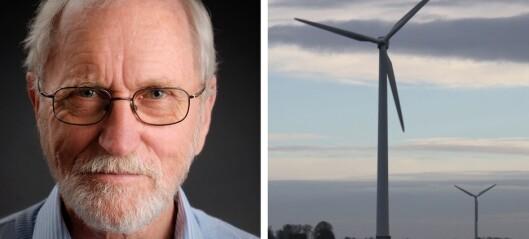 Vi treng ikkje meir vindkraft