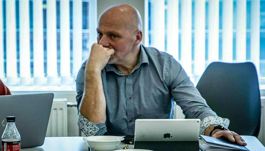 VONDT SVAR: – Det vart eit skikkelig vondt svar å få, seier kommunedirektør Stig Stark-Johansen om offentlegheita i Årdal kommune. Der er Årdal verst i landet.