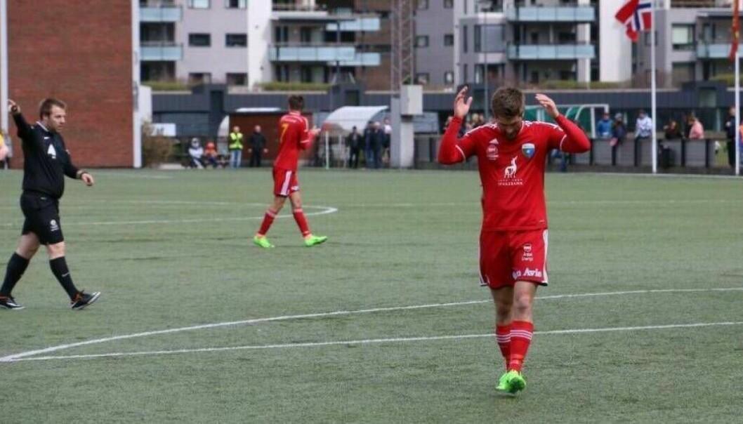 SLIT: Årdal FK er eitt av fleire lag som slit med å halda seg i divisjonen.