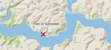 Tunnel var stengd grunna opprydjingsarbeid