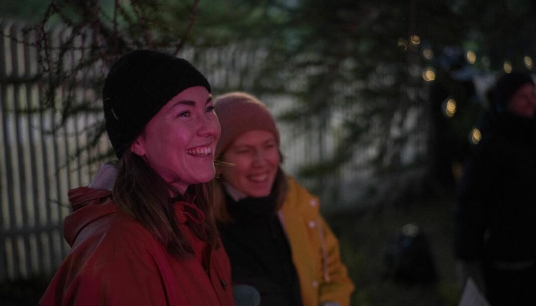 VINJEROCK: Festivalsjef Sigrid Skjerdal legg ikkje skjul på at dei siste åra som festivalsjef har vore krevjande, og læringskurva har vore bratt. Men å gi seg var noko ho ikkje ville gjere.