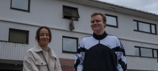 Iver (19) og Anna (19) meiner utelivstilbodet er for dårleg for unge:– Me treng ein uteplass for dei mellom 18 og 20 år