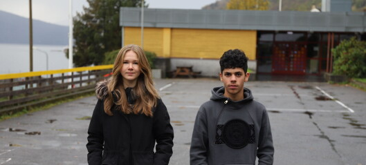 Elevrådet med klårt råd til politikarane: – Lat oss få vera her nede med fjorden