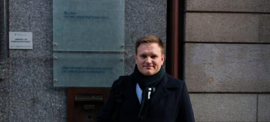 Statssekretær Heen var fredag på plass i Oslo
